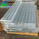 20-300mm thick Custom Made Clear Acrylic Strip