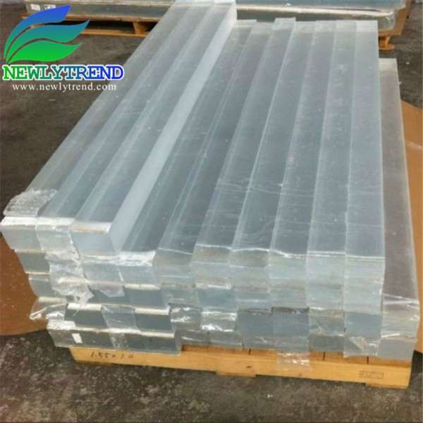 20 300mm Thick Custom Made Clear Acrylic Strip
