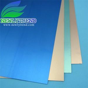 0.6-3mm thick 35μm copper clad laminate aluminum base
